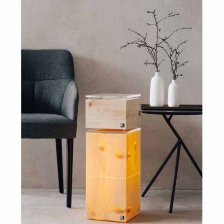 Arven-Zirbenleuchte / LAMPE Cube2.21
