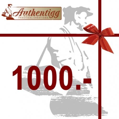 Geschenkgutschein CHF 1000.00