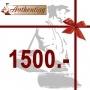 Geschenkgutschein CHF 1500.00
