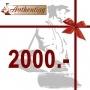 Geschenkgutschein CHF 2000.00