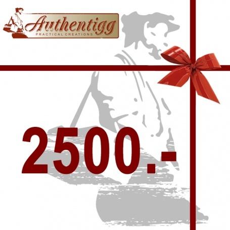Geschenkgutschein CHF 2500.00