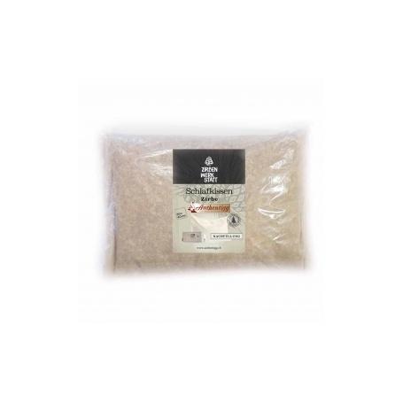 Arven-Zirben Kissen Nachfüllung mit Baumwoll-Trikotstoff